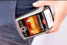Terminale płatnicze / Dla nich też powinno znaleźć się miejsce na stanowisku sprzedaży. W końcu to one gwarantują szybkie i bezpieczne transakcje bezgotówkowe. Trochę pinów przedstawiających możliwości terminali płatniczych marki Ingenico.