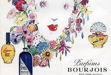Affiches anciennes parfums