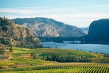 Regions / Primary winery regions within the Okanagan Valley, BC, Canada.