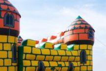 Gonfiabili per bambini / Scivoli, castelli, saltarelli..tutto quello che un bambino può desiderare