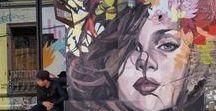 Street Art and Graffiti ... etc 1 .