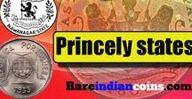 Rare Princely State Coins / Rare Indian coins from various princely states for sale