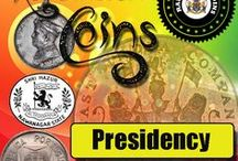 Rare Presidency Coins / Rare Indian Presidency coins for sale