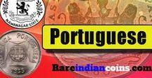 Rare Portuguese India Coins / Rare Portuguese Indian coins for sale