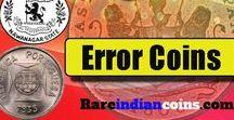 Rare Error Coins Of India / Rare Indian error coins for sale