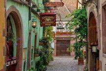 Cidades ... vilas ... lugares bonitos e agradáveis  .....