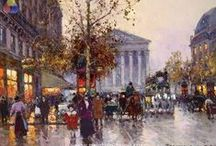 Famous Oil Paintings / Own a famous oil painting at a reasonable price!