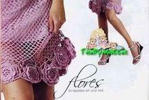 patrones a crochet / chal celeste tejido a crochet