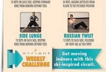 Orriant Weekly Challenges / Try a weekly wellness challenge here...