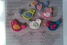 crochet pattern, motif / crochet