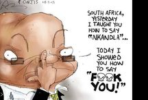 Jacob Zuma   A Country's Embarrassment / Zuma, aka Showerhead, has been exceptionally controversial in his time as president. Regrettably he is an embarrassment to the country and its people.