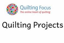Quilting Projects / Explore quilting projects and patterns selected by Quilting Focus from around the web. Get inspired and motivated to make something really special.