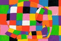 Quilts with Elephants - who doesn't love Elmer :-)