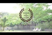 wedding movie chouchou / サンプルムービー集です。 結婚式 / プロフィールムービー / エンドロール / オープニングムービー / 映像 / 演出 / 披露宴 / 二次会 / コンセプトウェディング / アイディア / wedding movie / ideas /