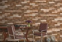 Brick Look Tile / With Ege Seramik, it is now very easy to catch the warm look of the brick in your living areas. Enjoy the look of the brick, the rising trend of late, in both indoor and outdoor spaces with the durability and easy cleaning advantages of the tile.  #egeseramik #perfectbeauty #ceramic #tiles #design #brick