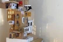 ...building cardboard castles in the air... / Cardboard box recycling ideas...