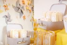 Color combo Jaune & gris / Color combo jaune et gris