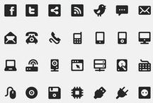 Digital Icons / #digital #digi #icons #iconset #graphic #clipart