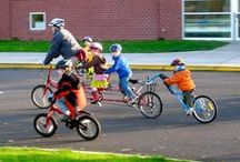 Safe Routes to School / Providing information and infrastructure to encourage students to get to school by bike or foot!
