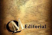 NUESTROS   AUTORES / Nuestros Autores - Creemos en ellos  fervientemente, y en la fuerza de sus letras,  Gracias por confiar en nosotros QM Editorial Nuestra fuerza.... radica en un confianza mutua.  Editor y Autor unidos.