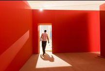 Facendo Camiño... / Montaxe da mostra 'Camiño. A orixe', en exposición no Museo Centro Gaiás do 13 de marzo ao 13 de setembro de 2015.