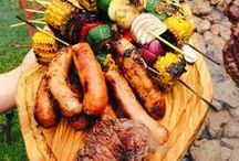 Tasty Wedding BBQ's / Yummy BBQ ideas - perfect for summer wedding catering and and other type of event or get together.
