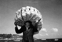 A Galicia de José Suárez / Taboleiro que recompila fotografías antigas sobre a Galicia do século XX.