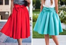Spódniczki mini i midi / Skirts mini/midi