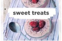 Sweet Treats / A collection of desserts that can be had anytime. Occasionally you'll find a really splurge worthy recipe, but most recipes here make it so you can enjoy dessert every day!