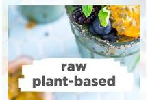 Raw Vegan / Adding a few raw recipes in per week is awesome for inflammation, skin, detoxing, antioxidants, and so much more! Here are some health coach approved ideas! ❤️