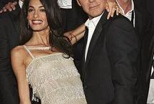 Amal Alamuddin/Georges Clooney