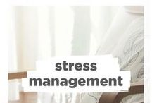 Stress Management / Everyone has stress... It's all about how we deal with that stress that matters. Learn about meditation, yoga for stress relief, find quotes, recipes, and more relating to stress and stress management!