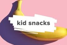 Kid Friendly Snacks / Here you will find healthy snack ideas for children.