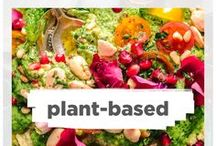Vegan / Up your nutrient-dense foods with plant-based foods! For all those chronically healthy people eating vegan this board is for you :)