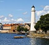 Karlskrona. In the middle of the archipelago. / Karlskrona was built as Sweden's naval city, with its great location and archipelago. Now we enjoy Karlskrona as the city where the sun shines the most in Sweden and the combination of land and water makes for a wonderful scenery.