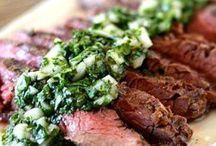 Over vlees en recepten