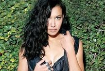 Naya <3 / only straight i am is straight up in love with naya rivera