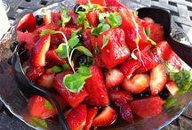 Over fruit en recepten / Wat kan je toch veel met fruit en wat fijn, dat het ook nog zo gezond is!