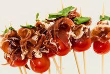 Zelf maken: borrelhappen / Met groente, vlees, brood...zo gemaakt en overheerlijk!