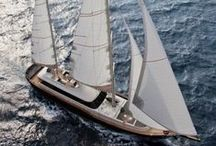 Yachts / This board includes sailing yachts, gullets and motor-yachts built along with Naval Studio's architecture, design and engineering consultancy.