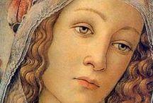 arte - Sandro Botticelli (1445-1510) / arte - pittore italiano