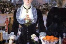arte - Edouard Manet (1832-1883) / arte - pittore francese