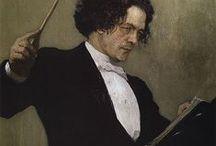 arte - Il'ja Repin (1844-1930) / arte - pittore e scultore russo