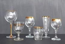 I N V E N T O R Y / tableware rentals, glasses, vintage glassware, plates, table settings
