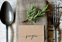 W H I M S I C A L  W O O D S / whimsical weddings, woodsy design, tablescapes, outdoor table settings