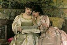 arte - George Dunlop Leslie (1835-1921) / arte - pittore inglese