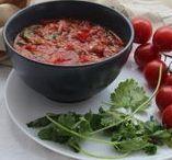 Food: Salsas Picante, Ají /Hot sauces