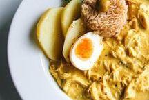Food: Gastronomía Perú