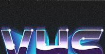 Outrun, Vaporwave & Retrowave / Synthwave, Vaporwave, Retrowave, Outrun, Pink & Teal Gradients, Rad Lettering, Chucks & Letter Jackets, Countaches & Testerossas