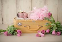 Newborn inspiration!! / newborn posing ideas / by Kim Zagarenski